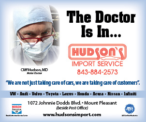 Hudson's Import Service, Mt Pleasant, SC
