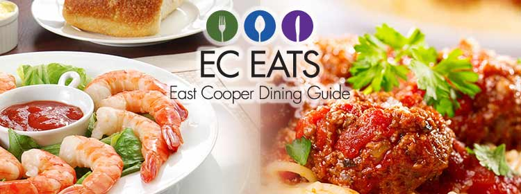 East Cooper Dining Guide. Covers Mount Pleasant, Daniel Island, Isle of Palms, and Sullivan's Island