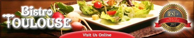 Visit Bistro Toulose online. Bistro Toulose -  A Parisian style bistro in Mount Pleasant